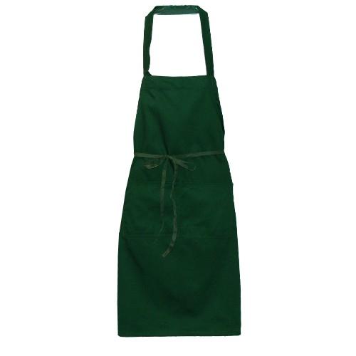 Green Tie Waist Cooking Apron