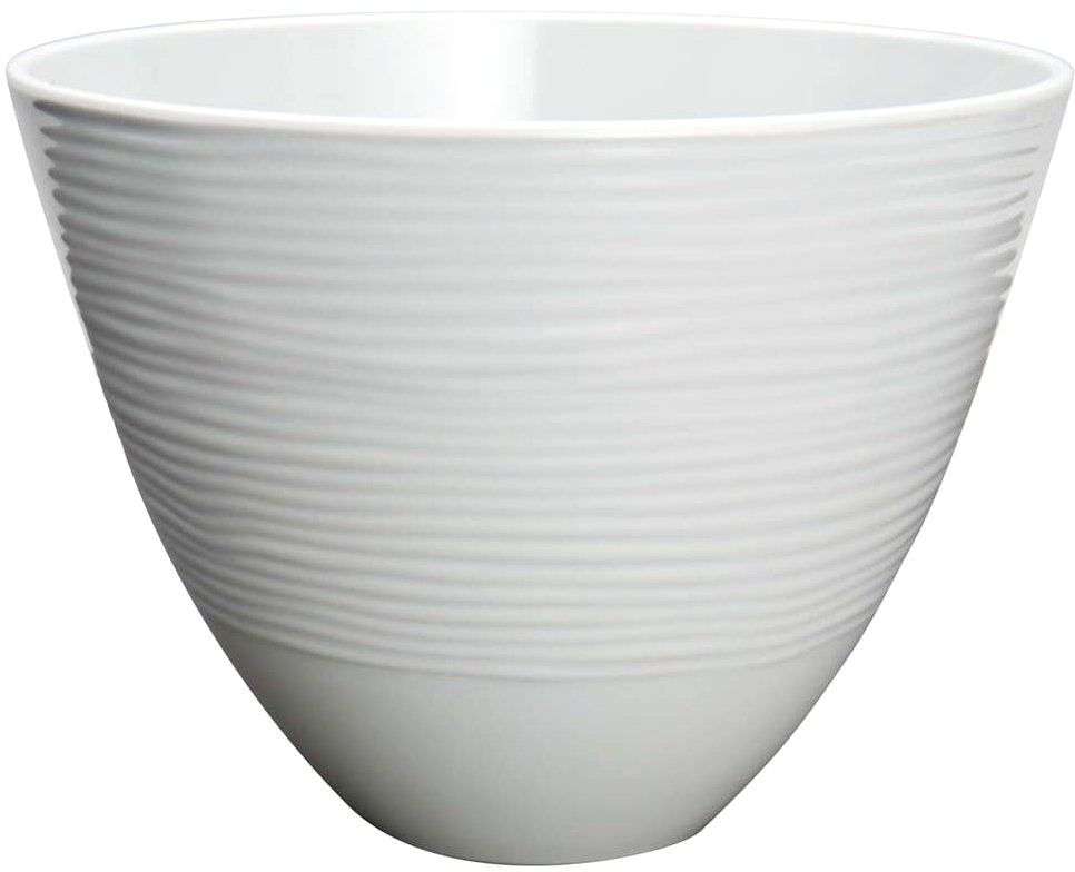 Zak Designs Small Silver Melamine Serving Bowl