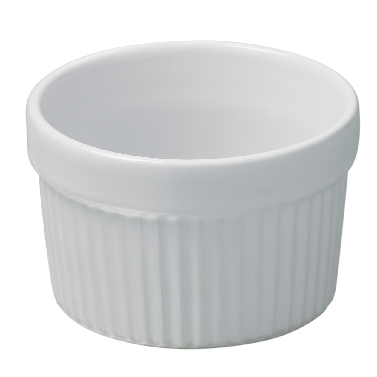 Revol French Classique White Porcelain 5.75 Ounce Ramekin