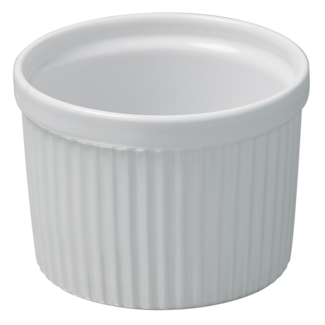 Revol French Classique White Porcelain 8 Ounce Ramekin