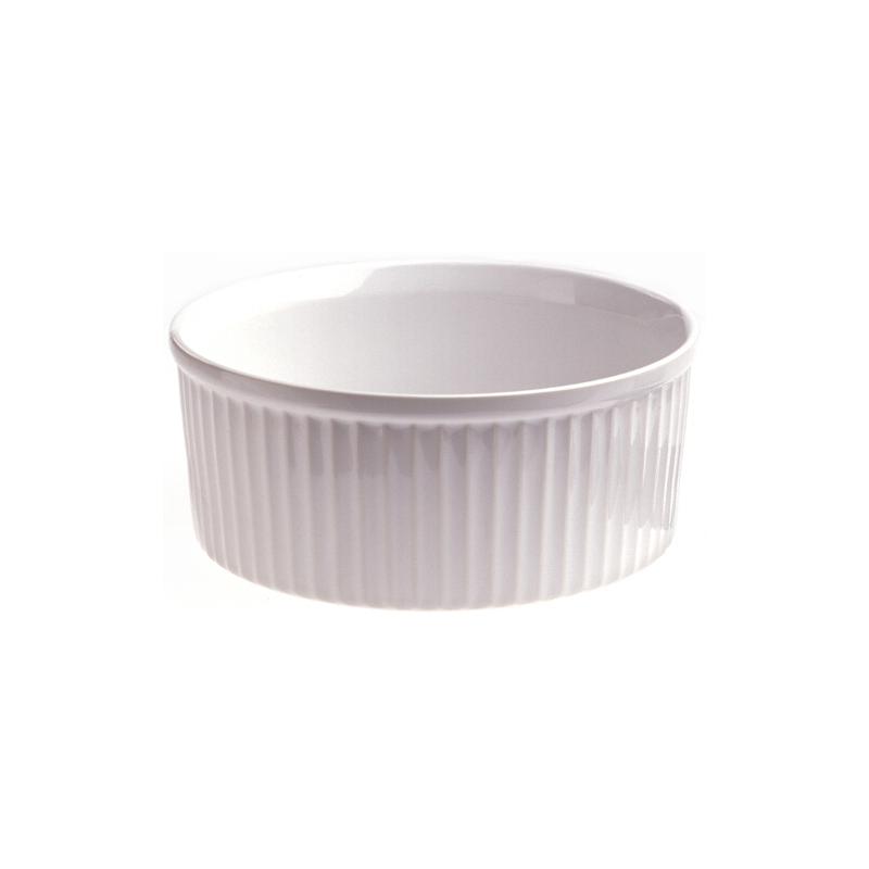 Revol French Classique White Porcelain 13 Ounce Souffle Dish
