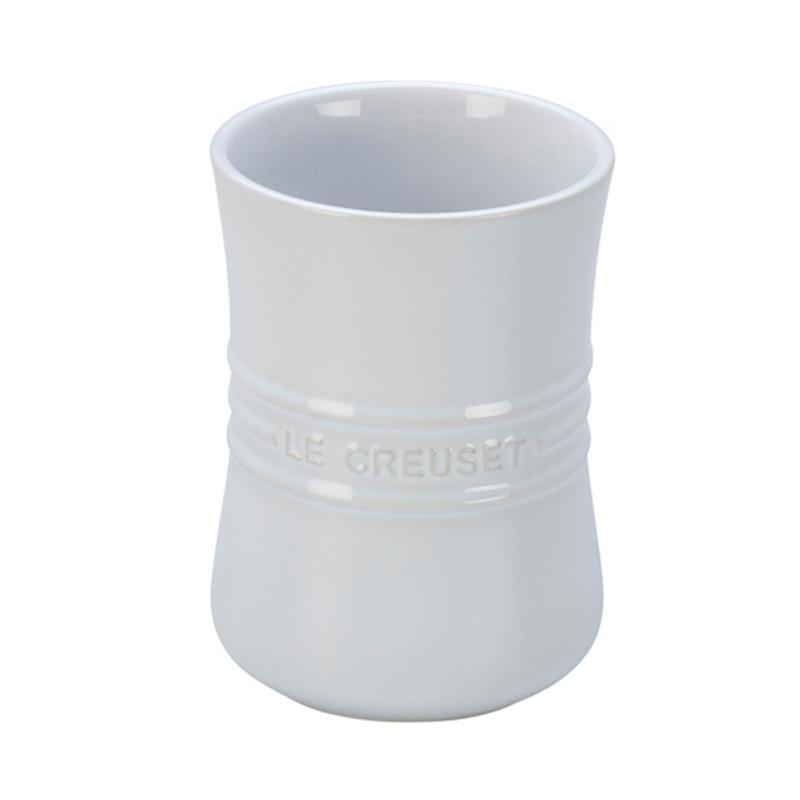 Le Creuset White Stoneware Utensil Crock, 1 Quart