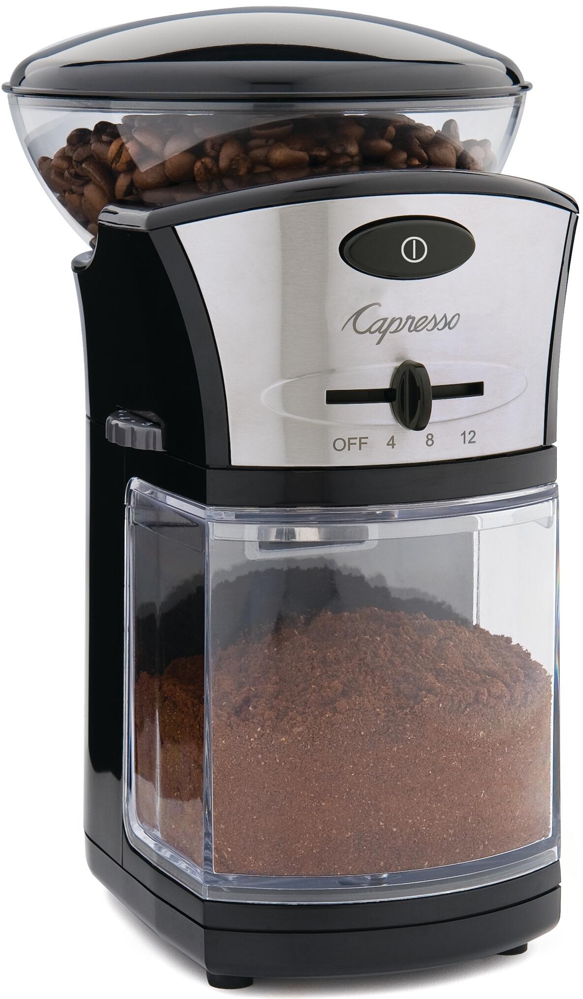 Capresso Black Coffee Burr Grinder