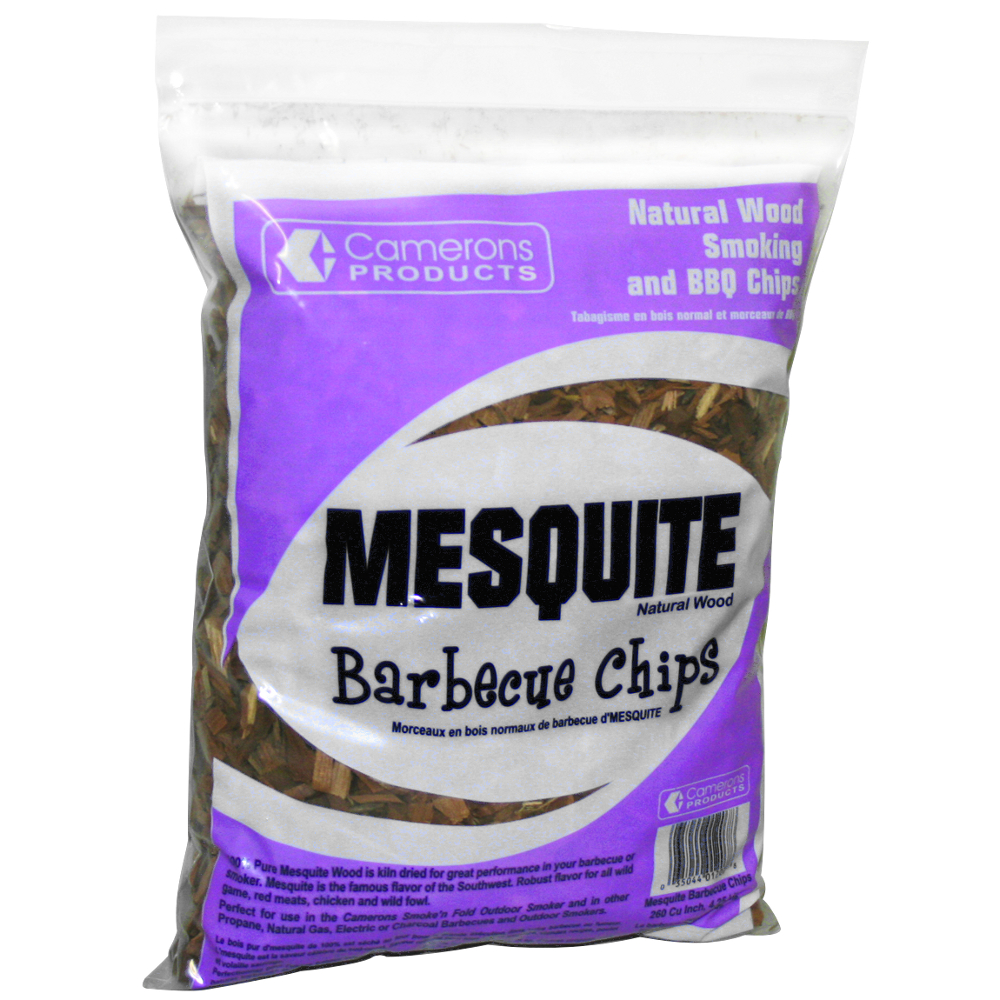 Camerons Mesquite Outdoor Barbecue Chips, 2 Pound Bag