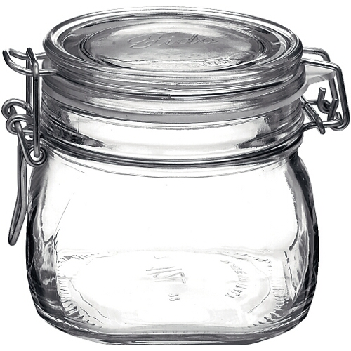 Bormioli Rocco Fido Glass 19 Ounce Storage Jar