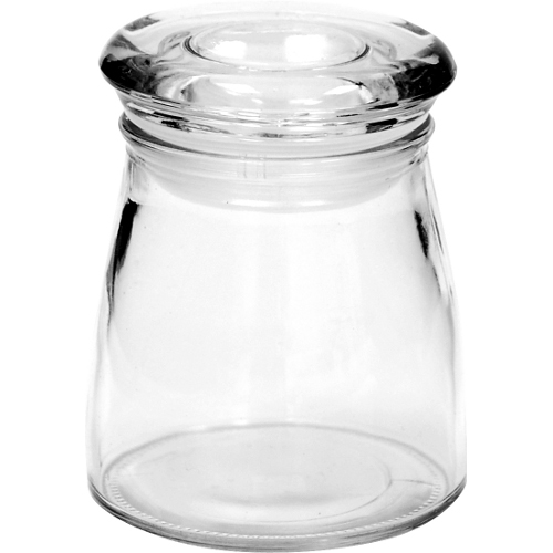 Anchor Hocking Glass 4 Ounce Studio Jar with Lid