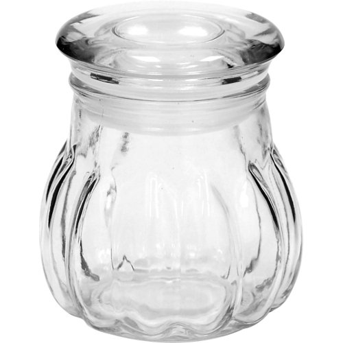 Anchor Hocking Glass 4.5 Ounce Melon Jar with Lid