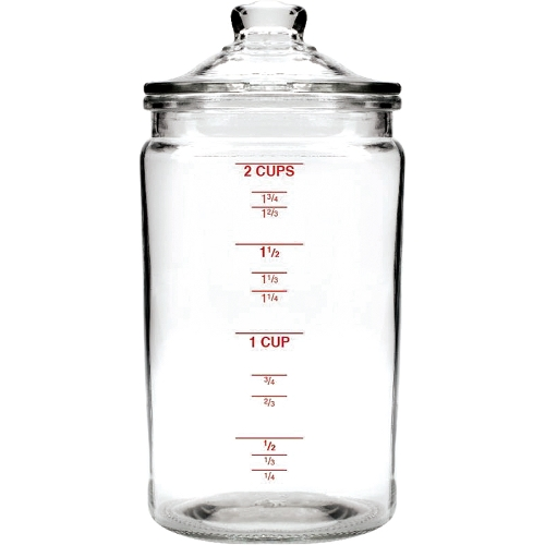 Anchor Hocking Heritage Hill 16 Ounce Glass Jar with Lid