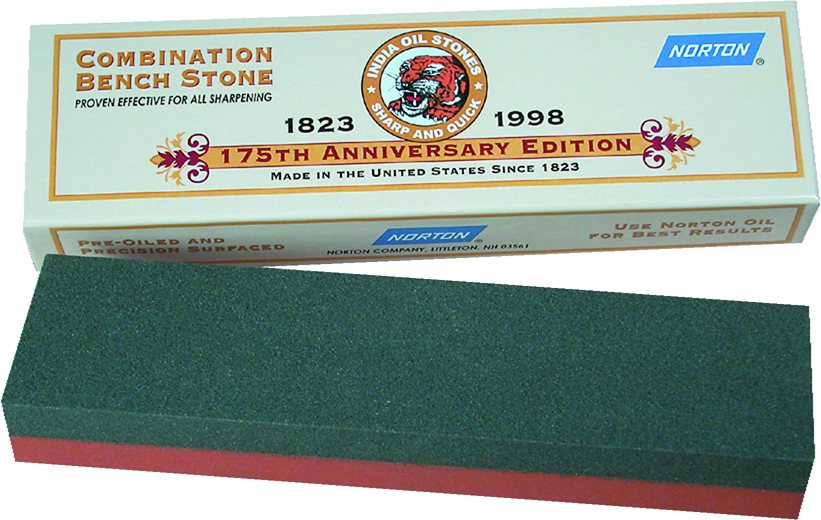 Victorinox India Bench Coarse and Fine Aluminum Oxide Combination Sharpening Stone