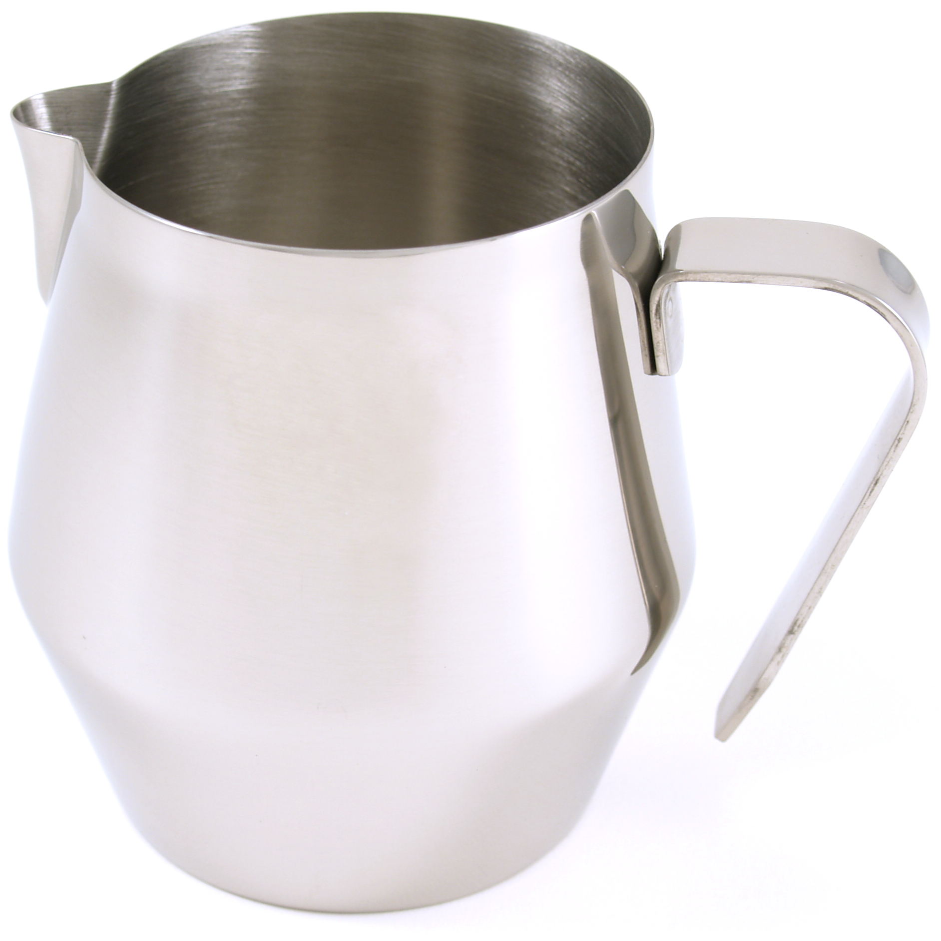 RSVP Endurance Stainless Steel Bell-Shaped Steaming and Frothing Pitcher, 20 Ounce