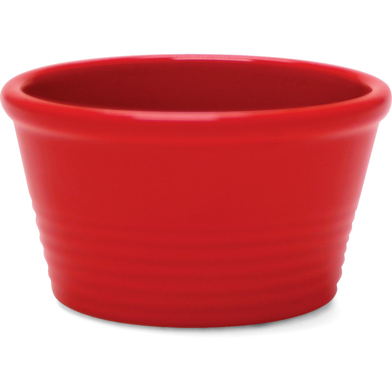 Chantal True Red 1 Cup Stackable Ramekin