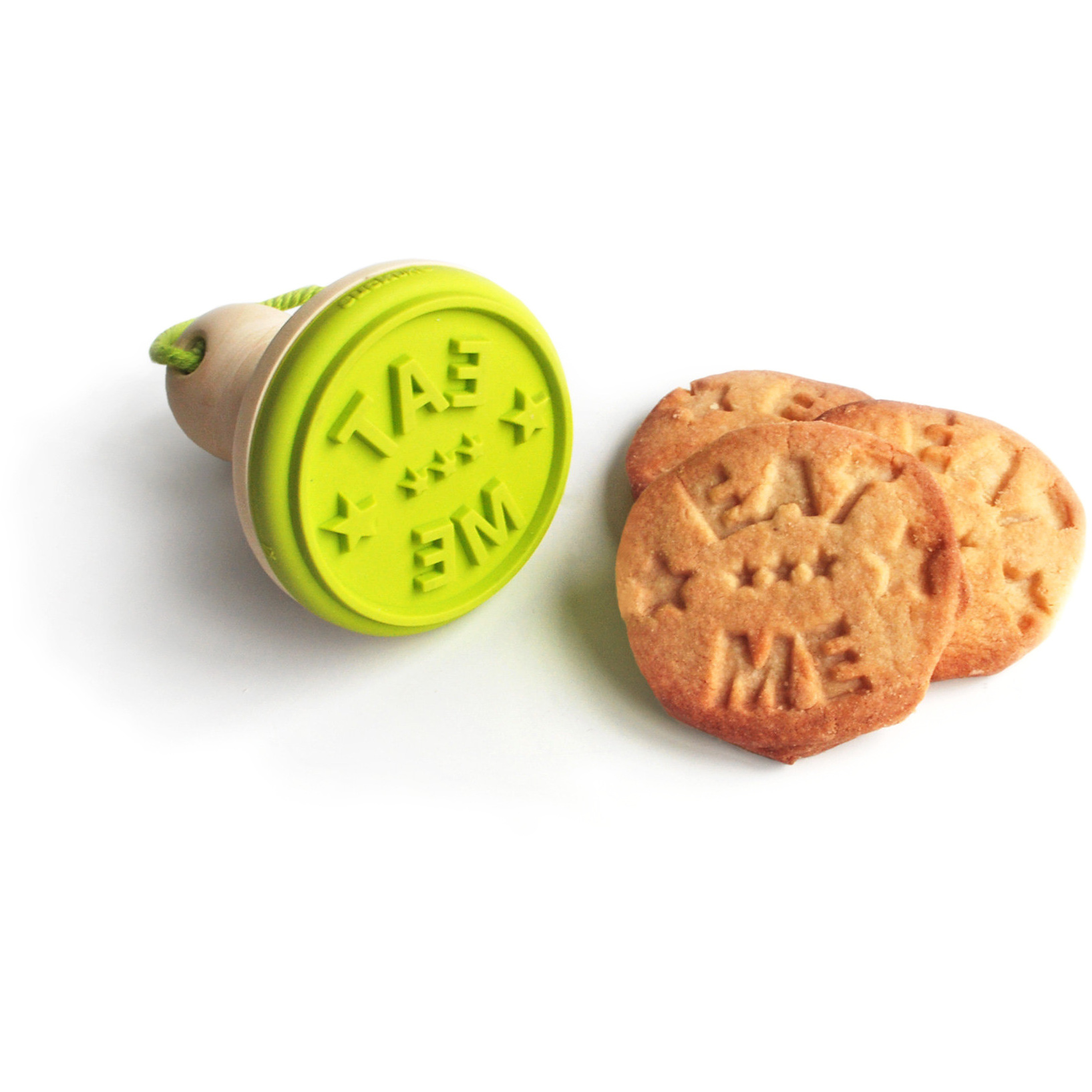 Suck UK Green Eat Me Silicone Cookie Stamper