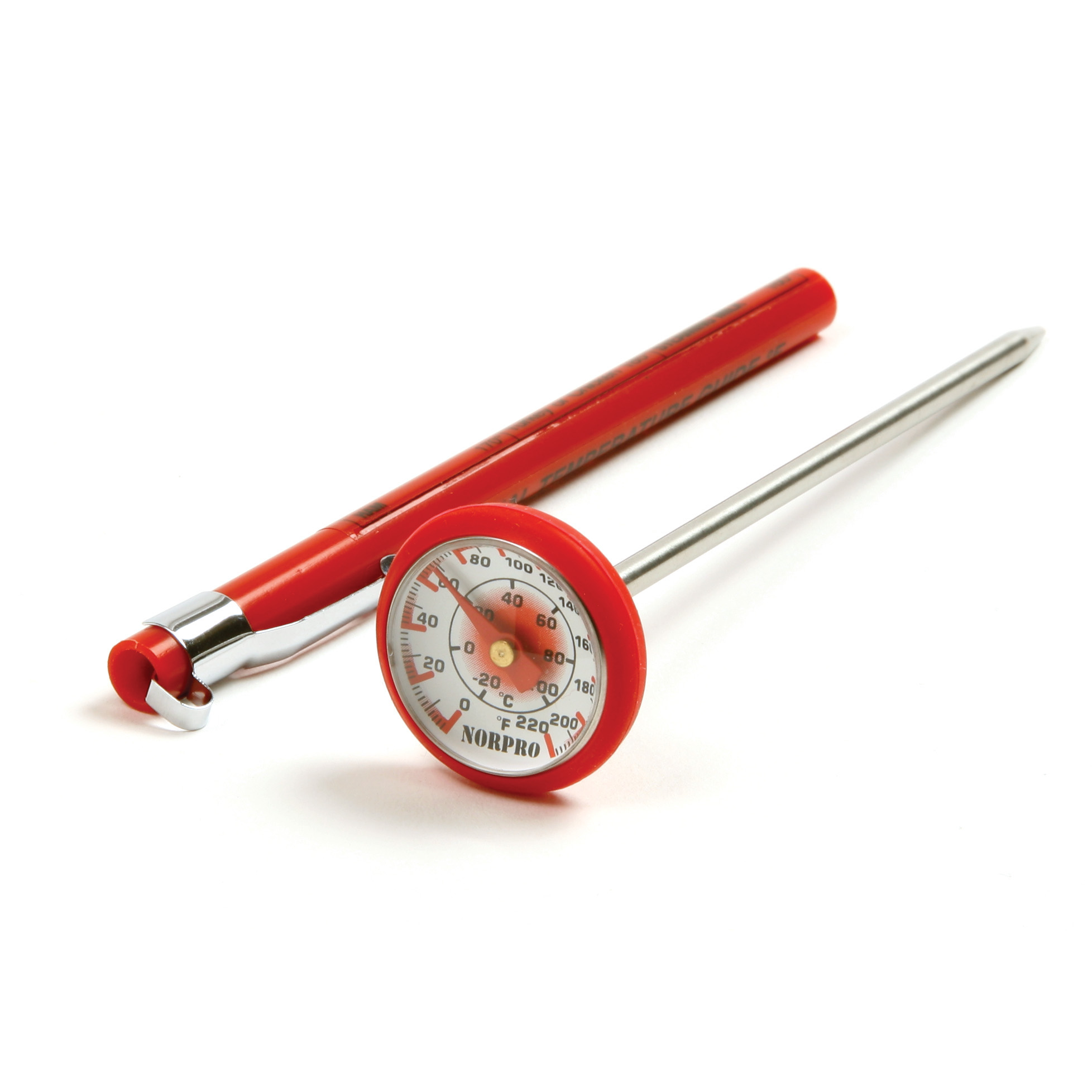 Norpro Red Silicone Instant Read Thermometer