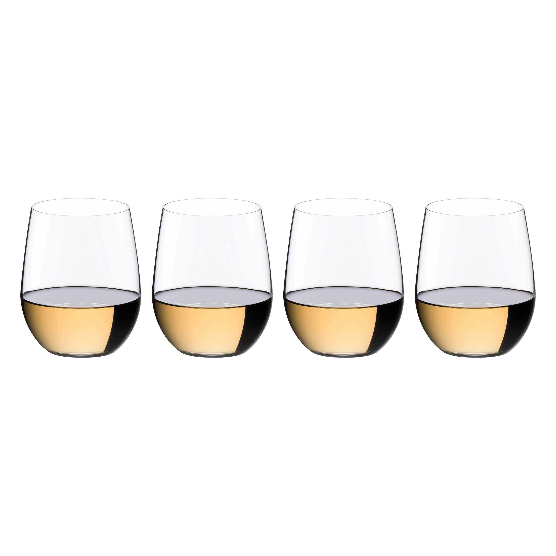 cda88b5b09e Riedel The O Viognier/Chardonnay Wine Tumbler 3+1 Value Gift Set