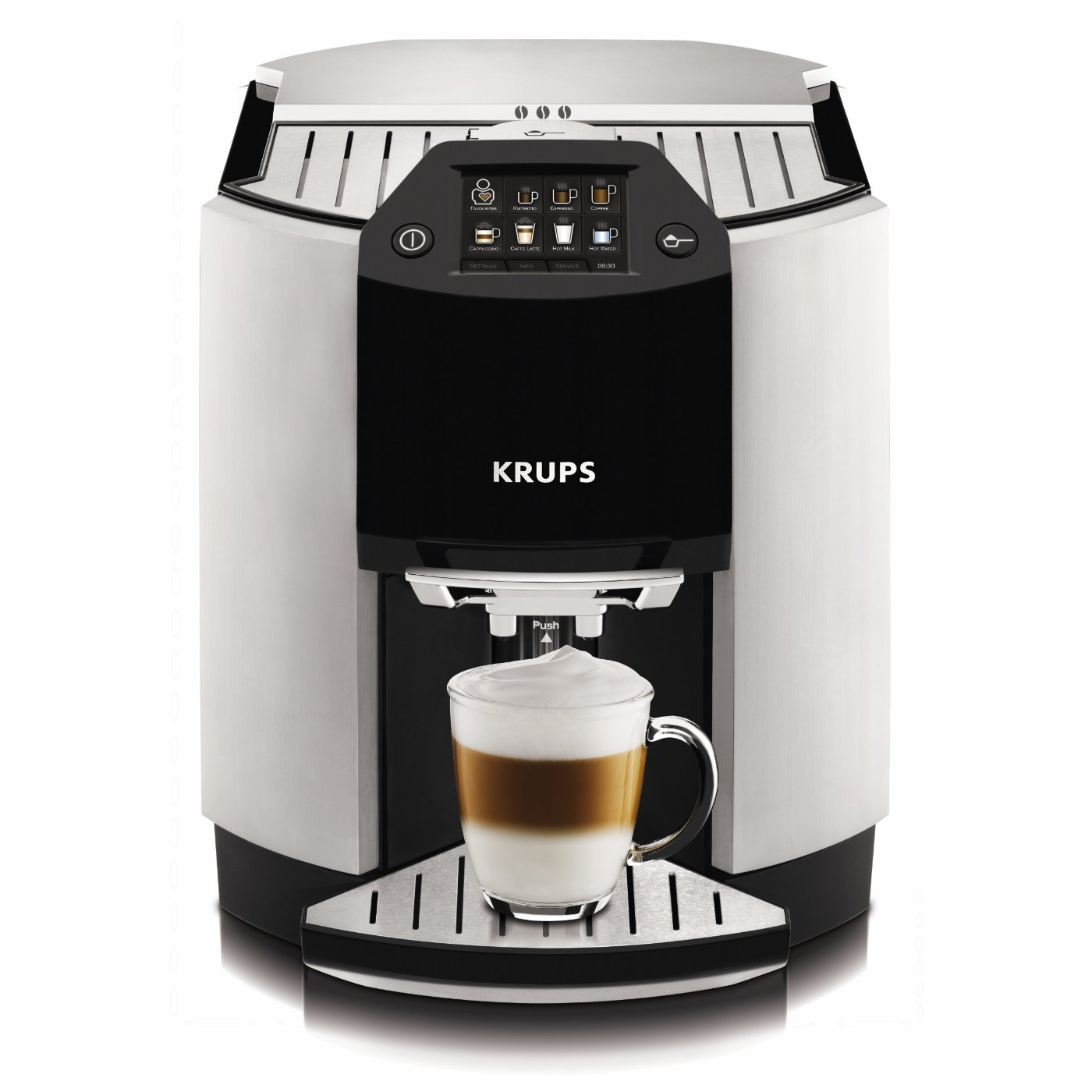 Krups EA9000 Barista Full Automatic One Touch Cappuccino Machine