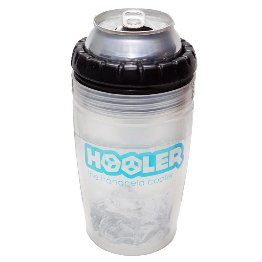 Hooler Double Walled Polypropylene Beverage Cooler with Black Ring