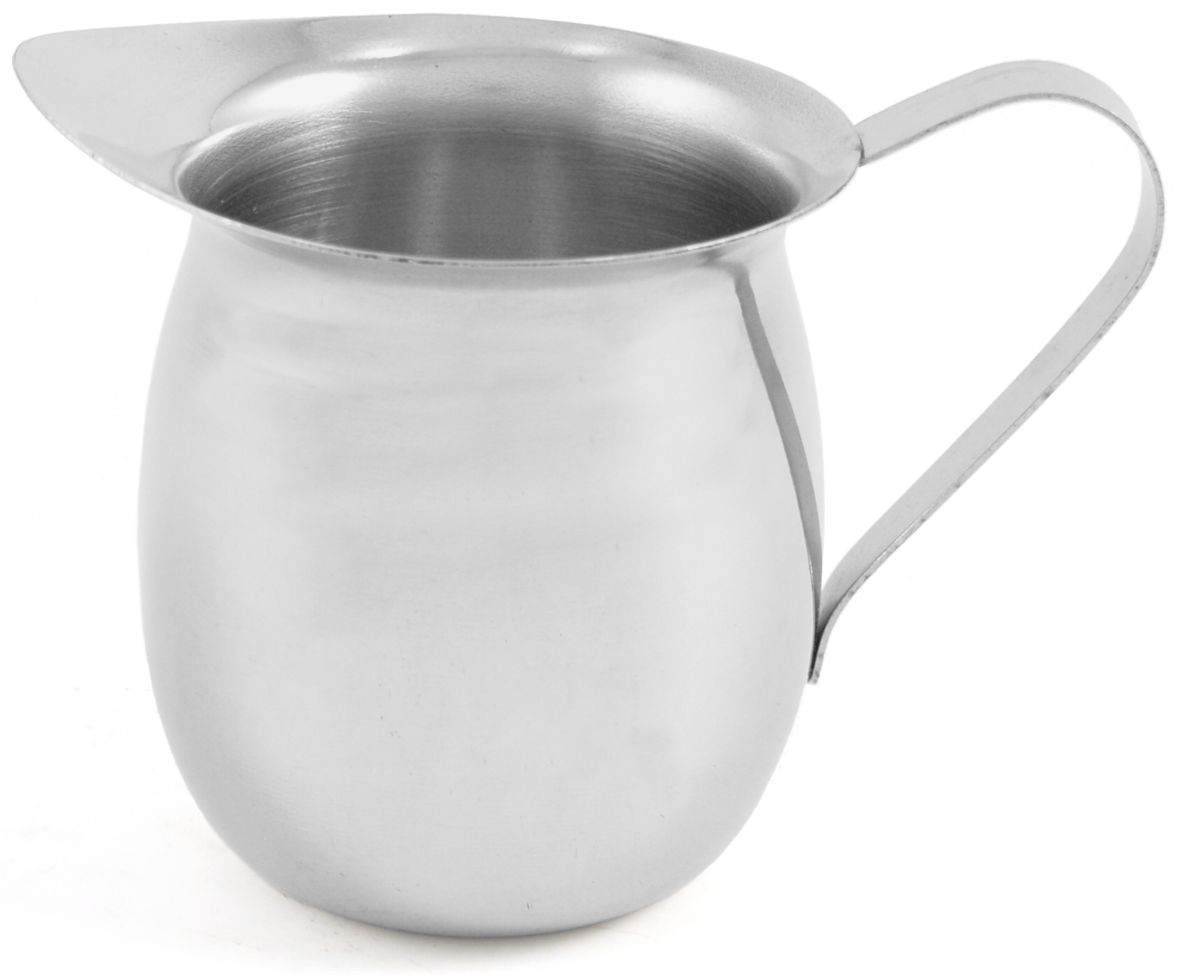 Stainless Steel Milk Creamer Pot /  Frothing Pitcher, 8 Ounce