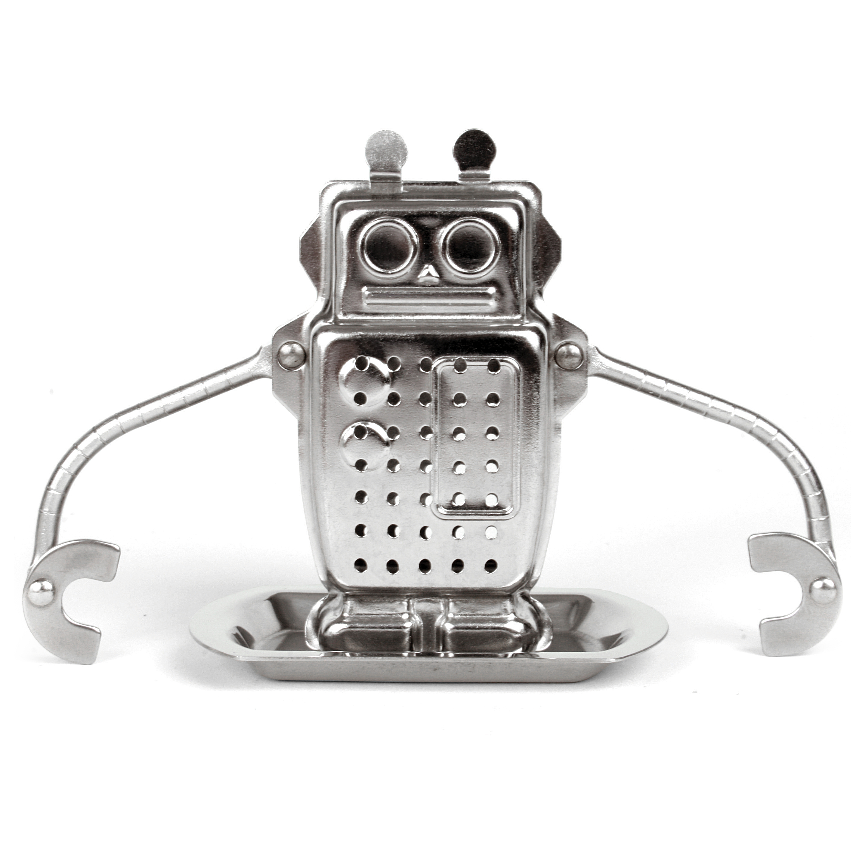 Kikkerland Robot Stainless Steel Tea Infuser