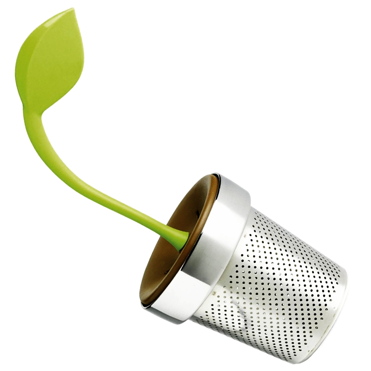 Chef'n TeaLeaf Melon and Brown Tea Infuser
