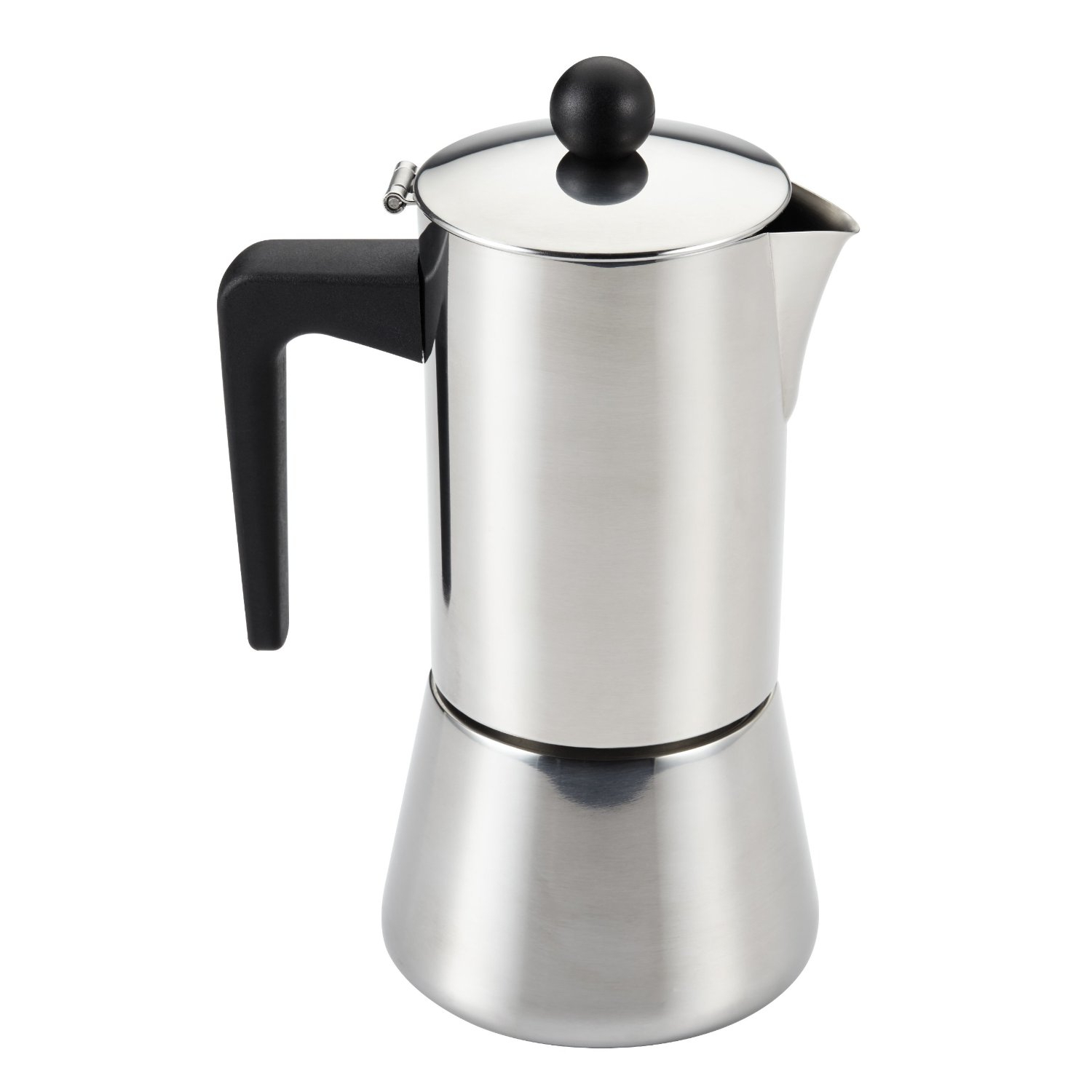 Bonjour Stainless Steel 6 Cup Stovetop Espresso Maker