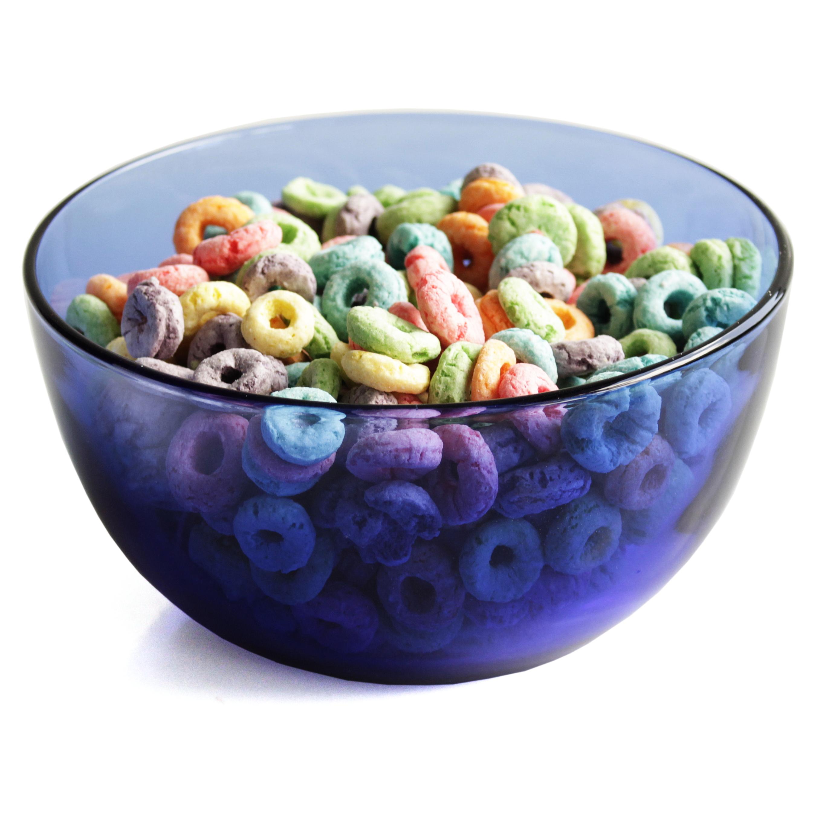 Anchor Hocking Cobalt Blue Glass Cereal Bowl, Set Of 6