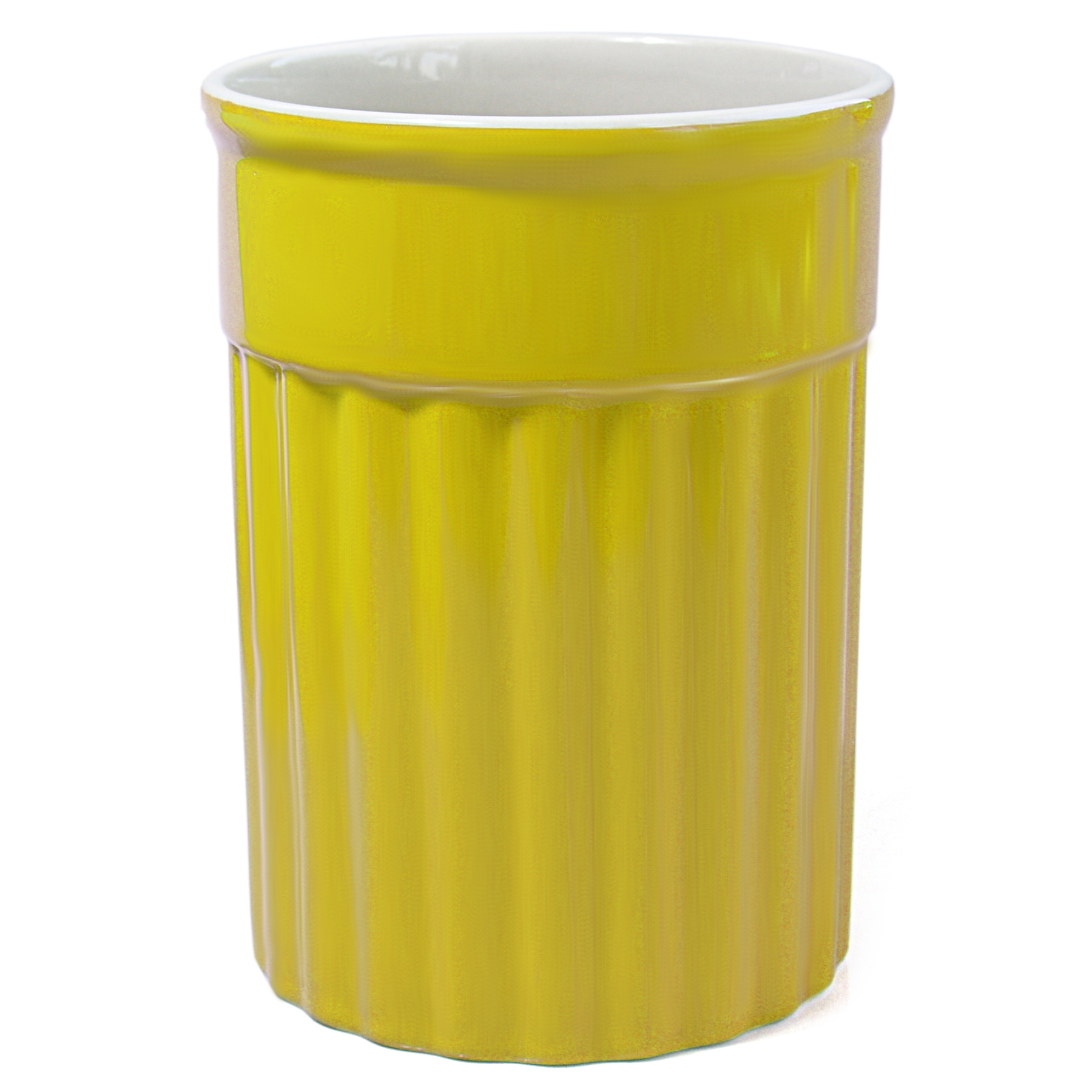 Omniware Simsbury Yellow Ceramic Utensil Holder