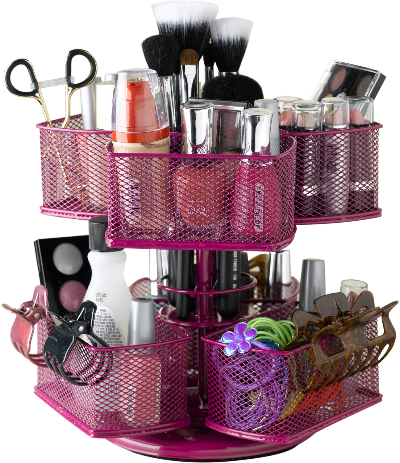 Nifty Home Products Rose Make-Up Carousel