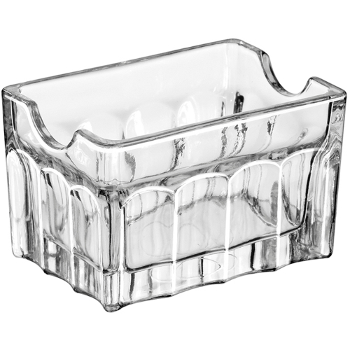 Libbey Glass Sugar Packet Holder, Set of 24