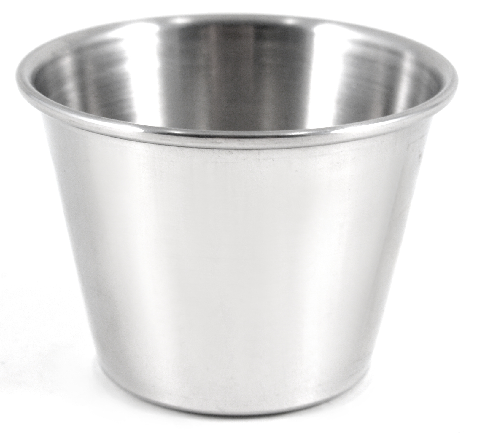 Stainless Steel Sauce and Condiment Cups, Set of 12
