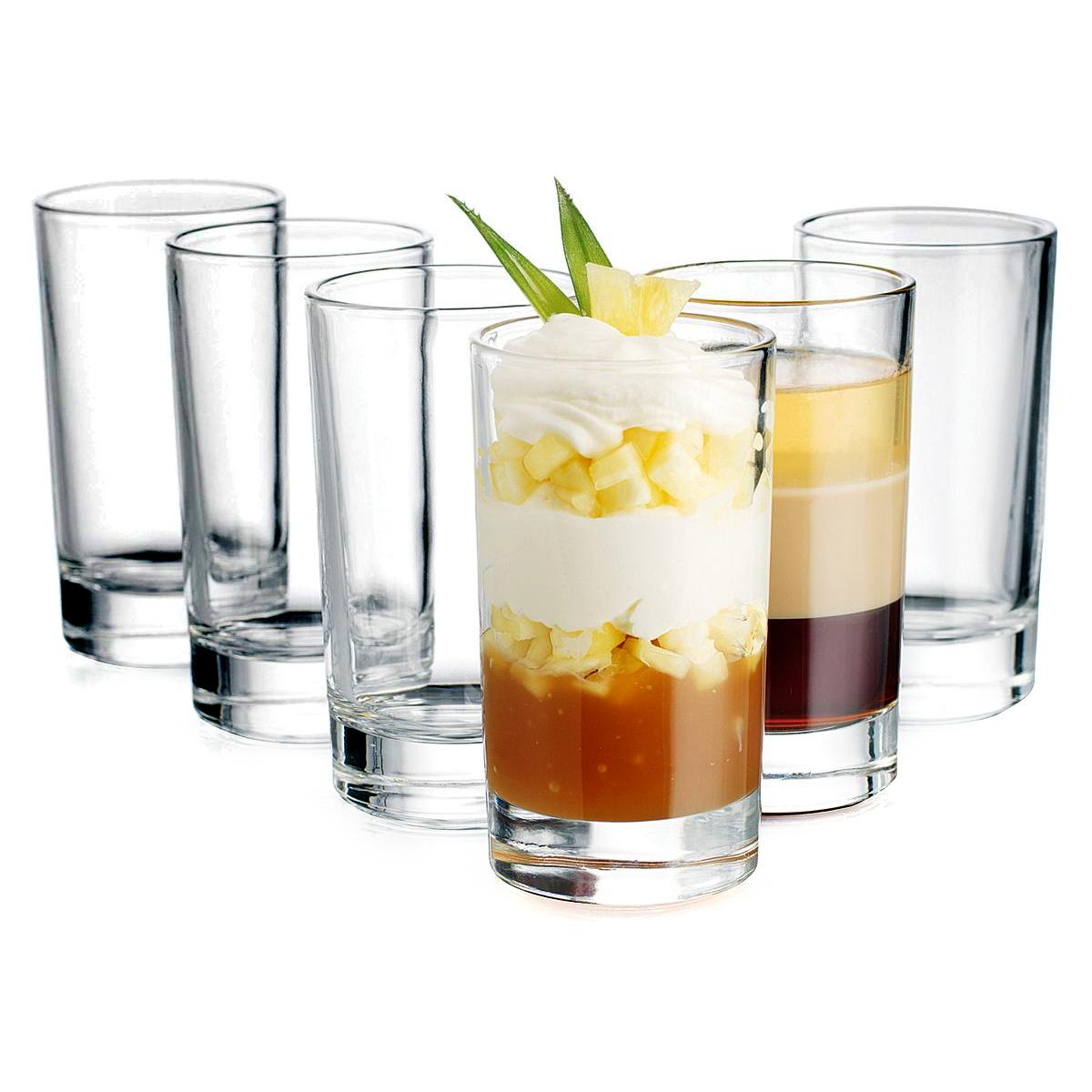 Home Essentials Delight 5.4 Ounce Dessert Glass, Set of 6