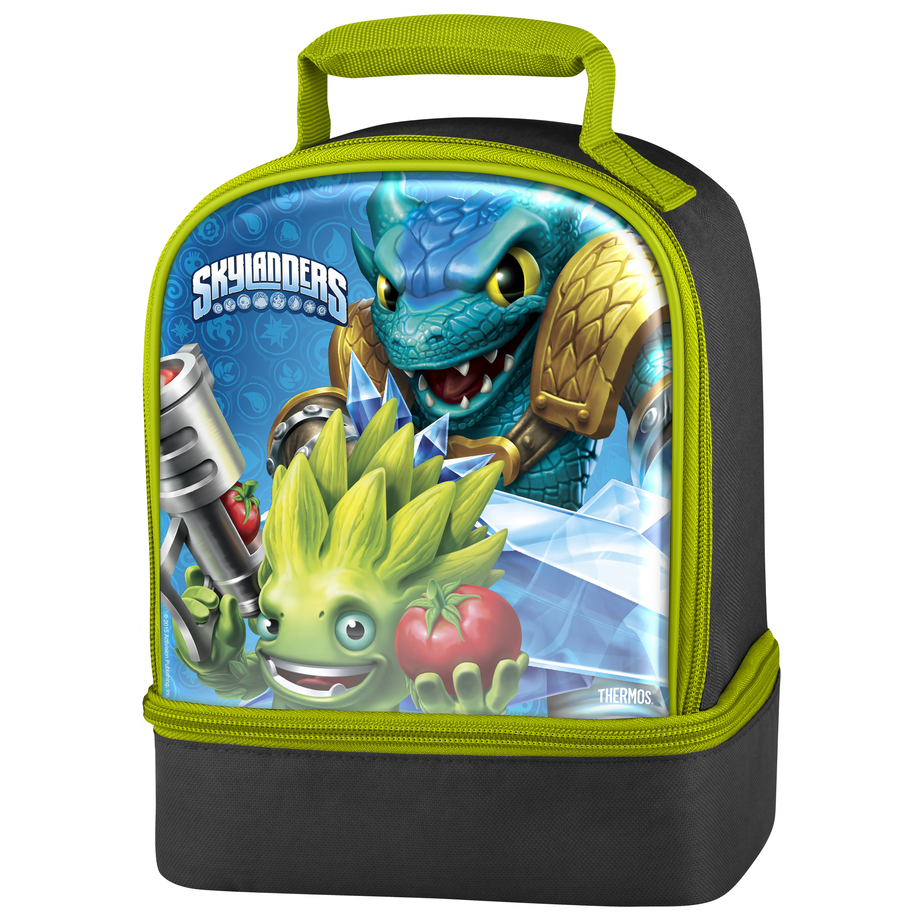 Thermos Skylanders Video Game 7.5 x 9.5 Inch Insulated Dual Lunch Kit