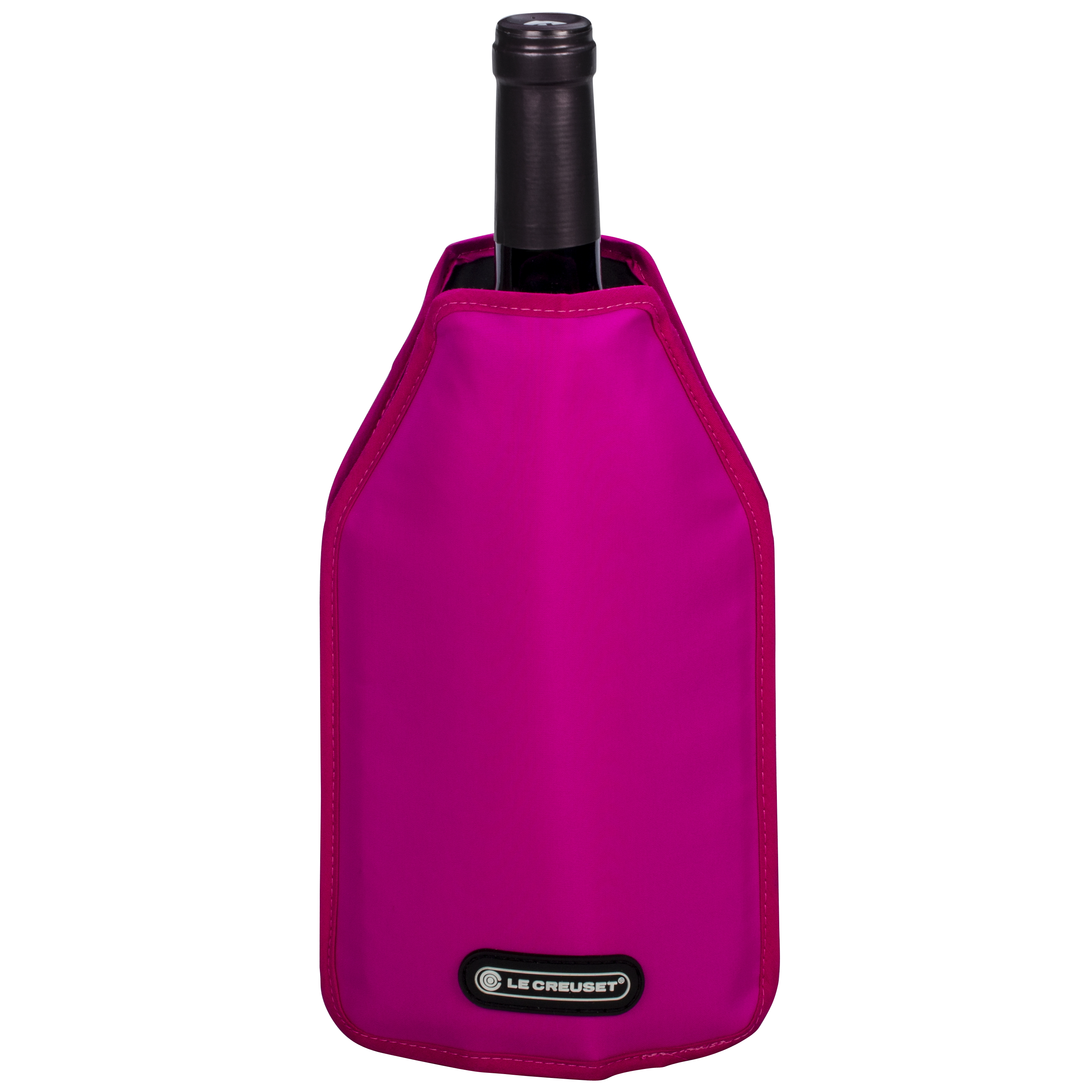 Le Creuset Shiny Pink Wine Bottle Cooler Sleeve