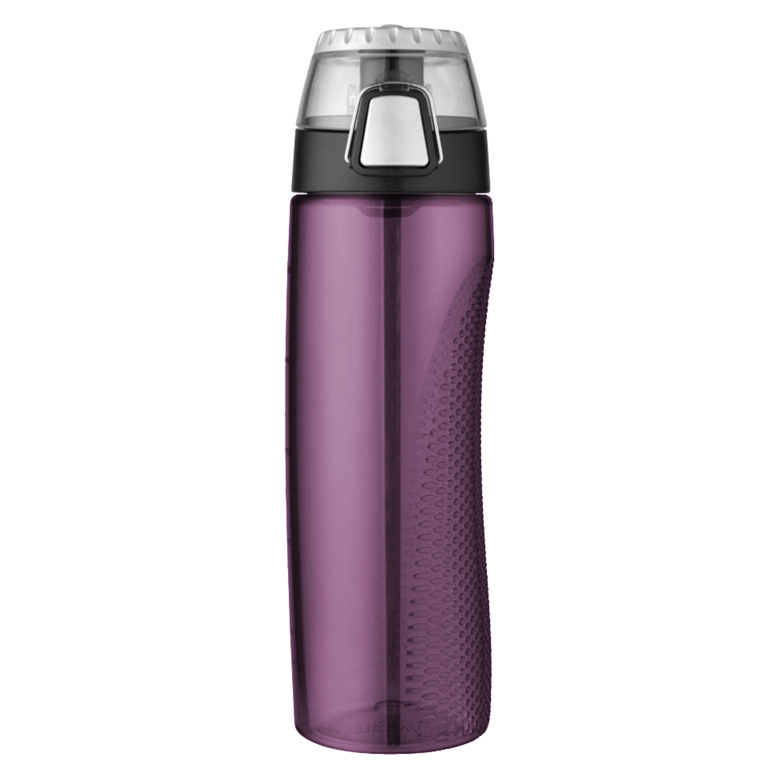 Thermos Purple Eastman Tritan 24 Ounce Hydration Bottle with Rotating Meter on Lid