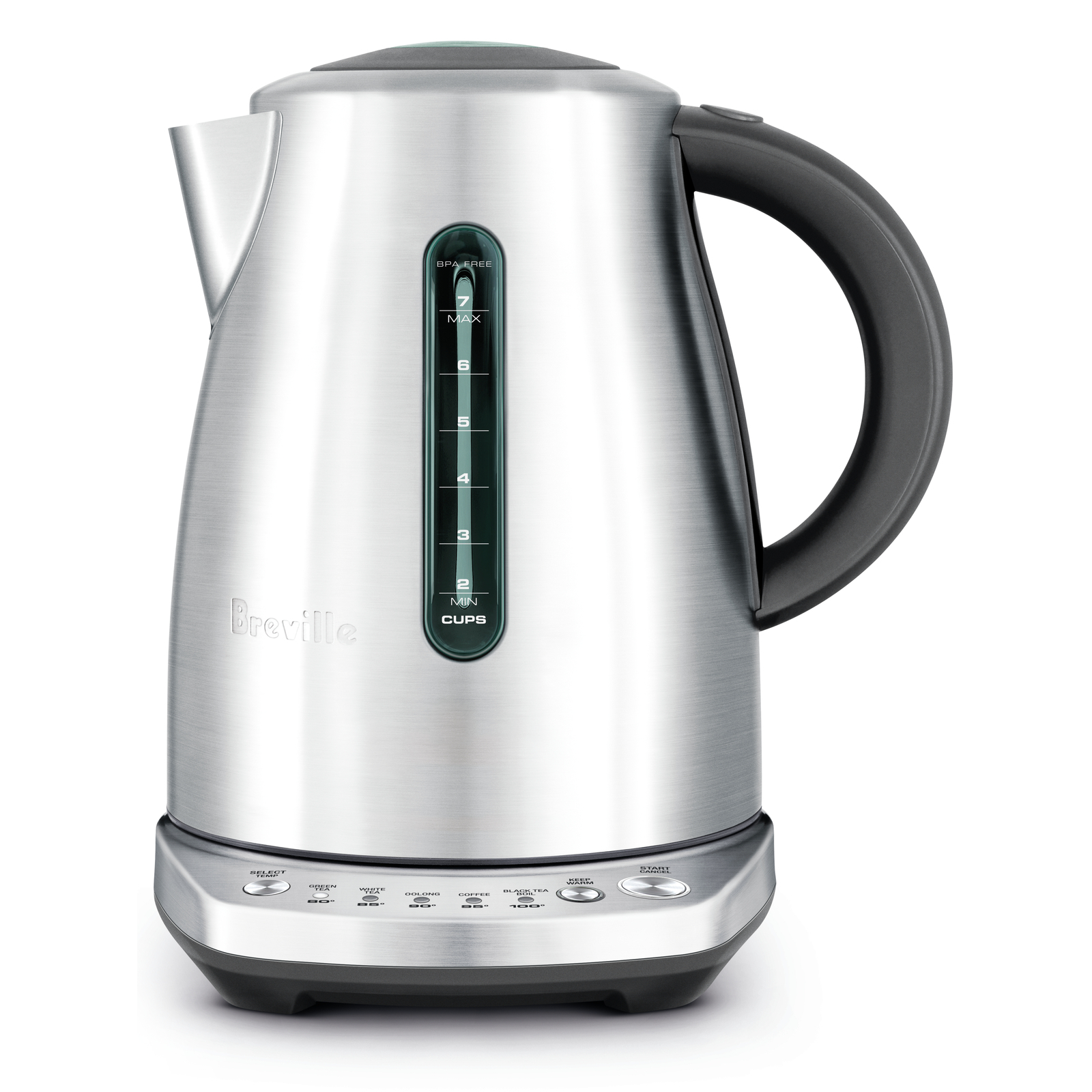 Breville Temp Select Stainless Steel 7.5 Cup Tea Kettle