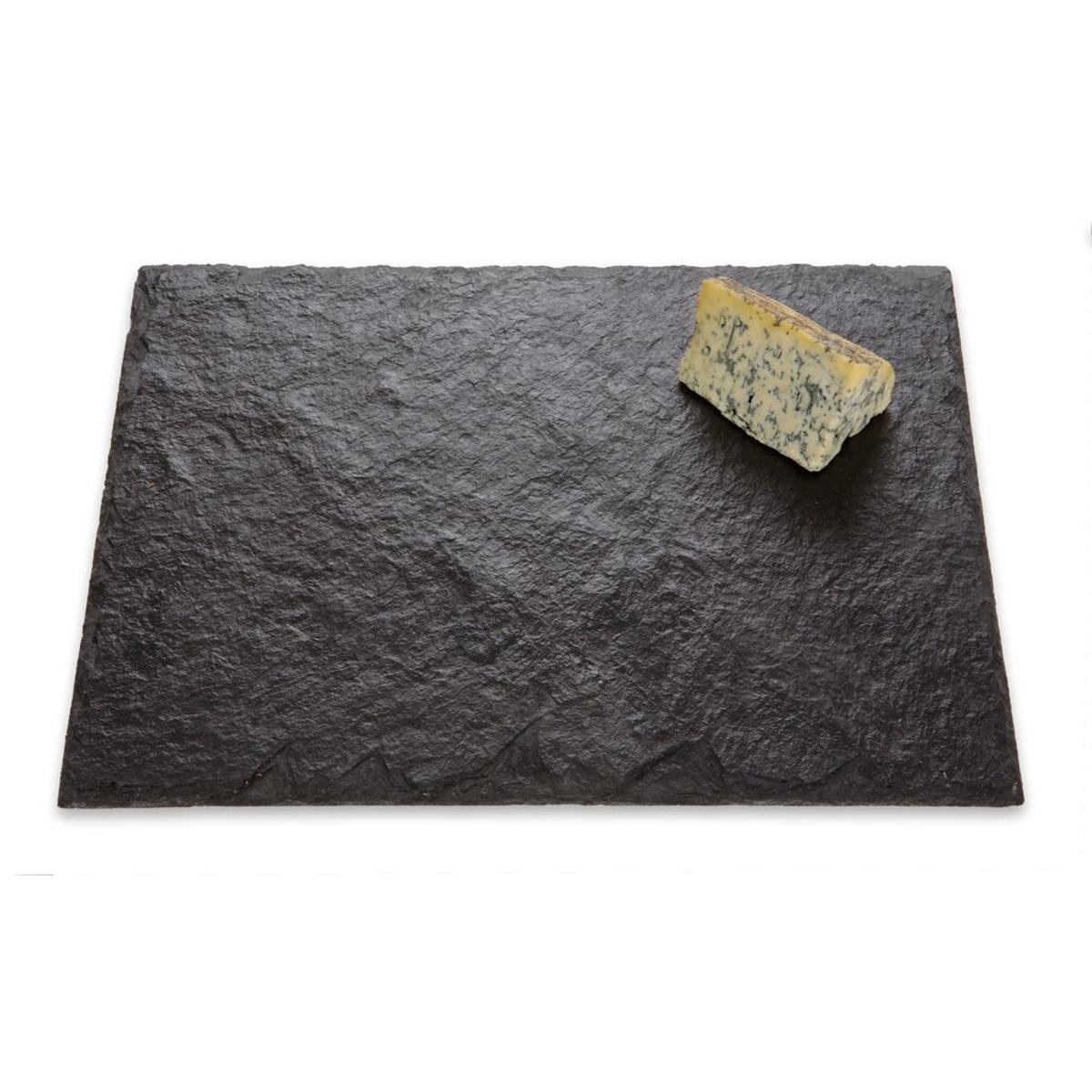 JK Adams Strata Slate 16 x 12 Inch Cheese Tray