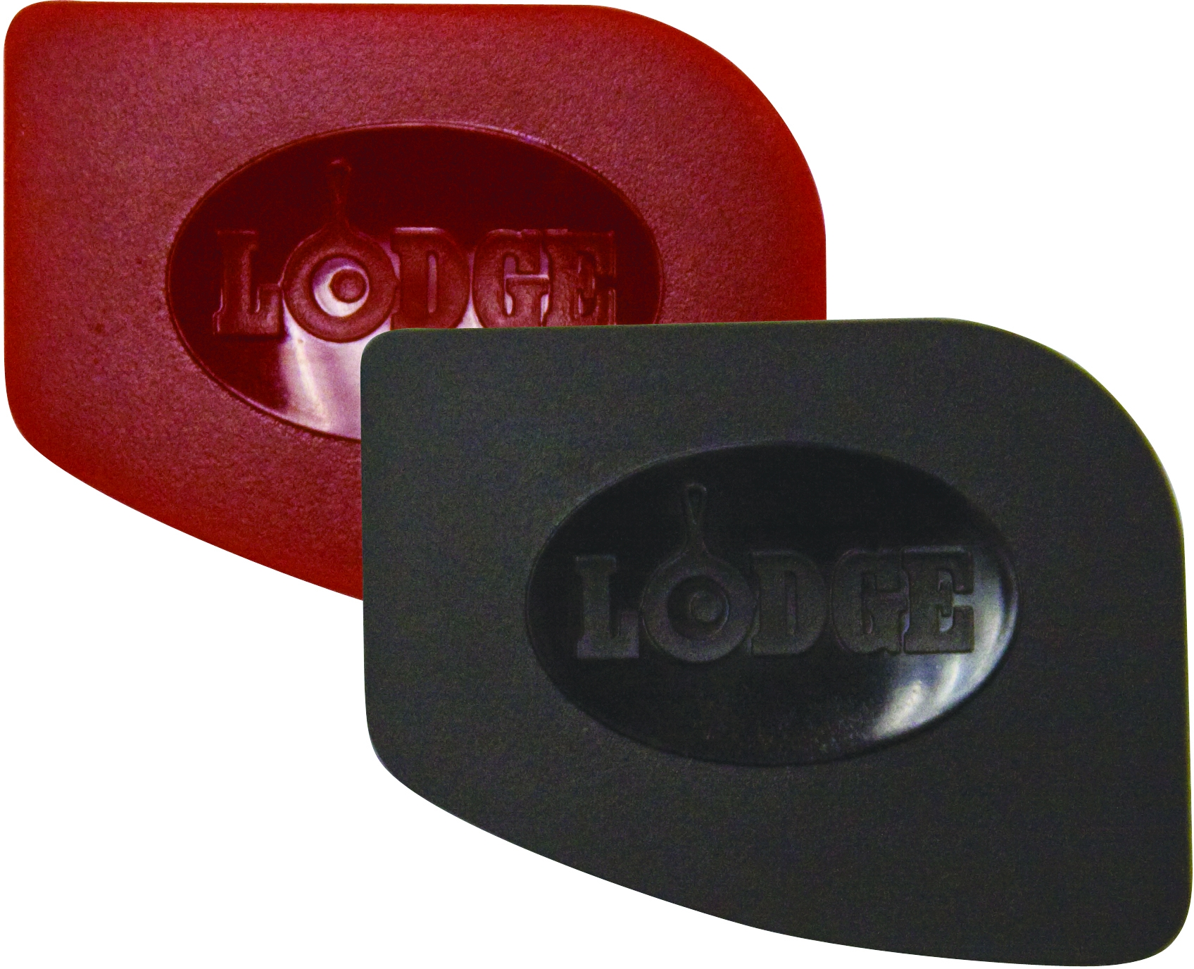 Lodge Red and Black Polycarbonate 2 Piece Pan Scraper Set