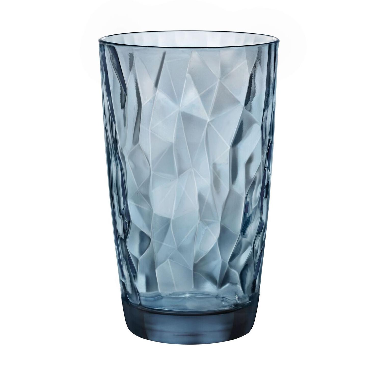 Bormioli Rocco Diamond Ocean Blue 16 Ounce Cooler Tumbler