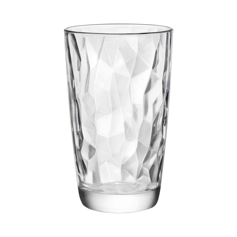 Bormioli Rocco Diamond Clear 16 Ounce Cooler Tumbler