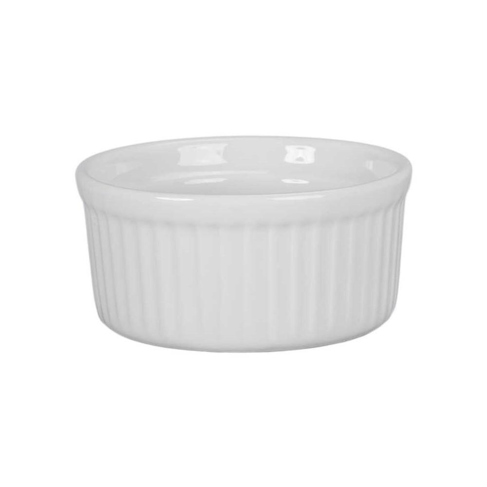 BIA Classic White Porcelain 4.5 Ounce Ramekin