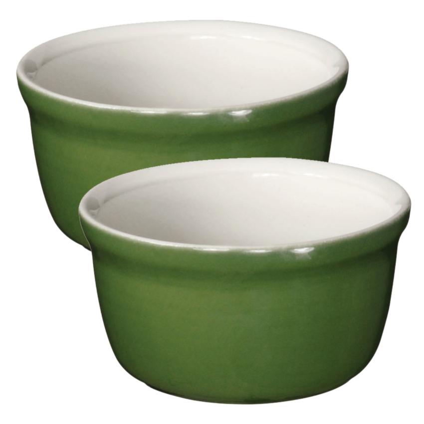 Emile Henry Spring Ceramic 7.6 Ounce Ramekin, Set of 2