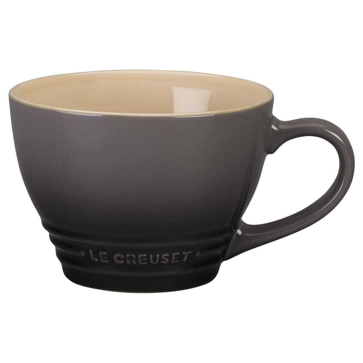 Le Creuset Oyster Stoneware 14 Ounce Bistro Mug
