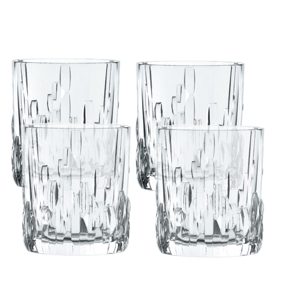 Nachtmann Shu Fa Fine Crystal Whisky Glass, Set of 4