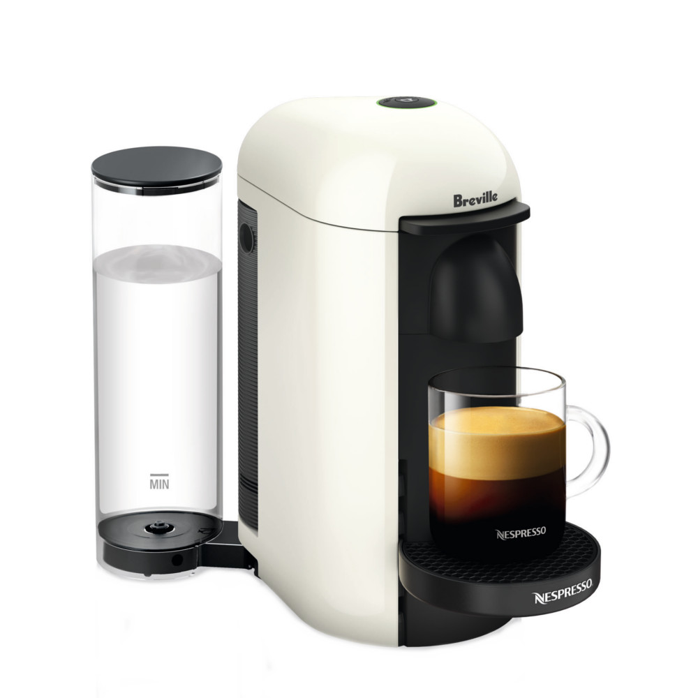Breville Nespresso VertuoPlus White Espresso and Coffee Machine