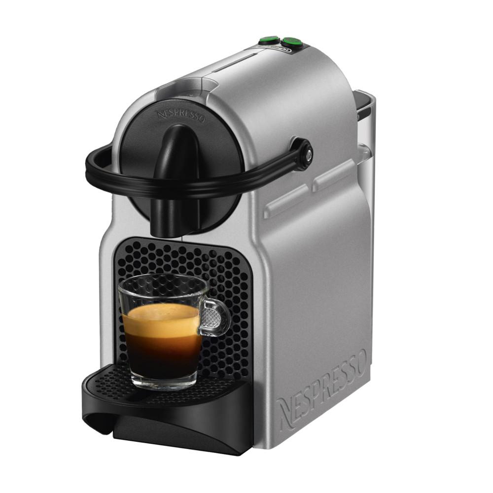 DeLonghi Nespresso Inissia Silver Espresso Machine