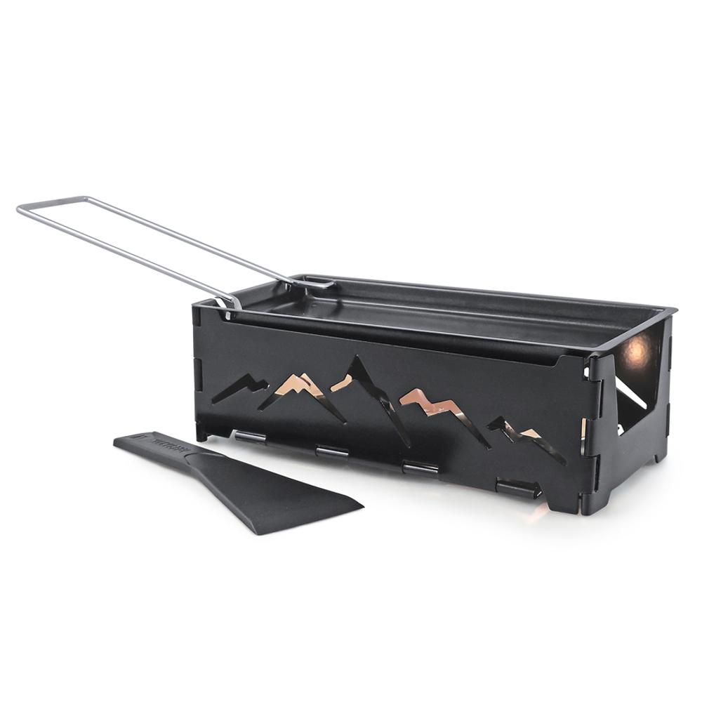 Swissmar Nordic Portable Foldable Candlelight Raclette
