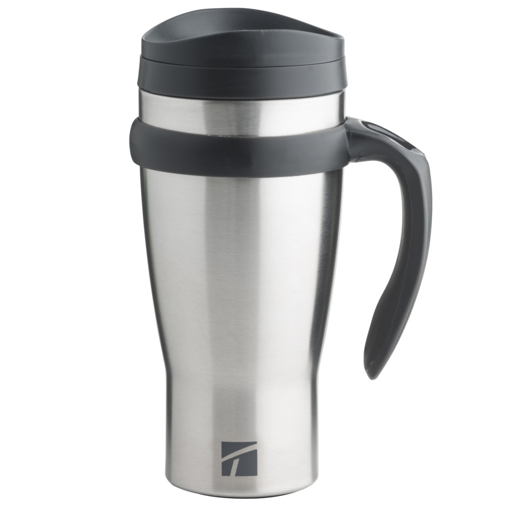 Trudeau Drive Time Stainless Steel 18 Ounce Travel Mug