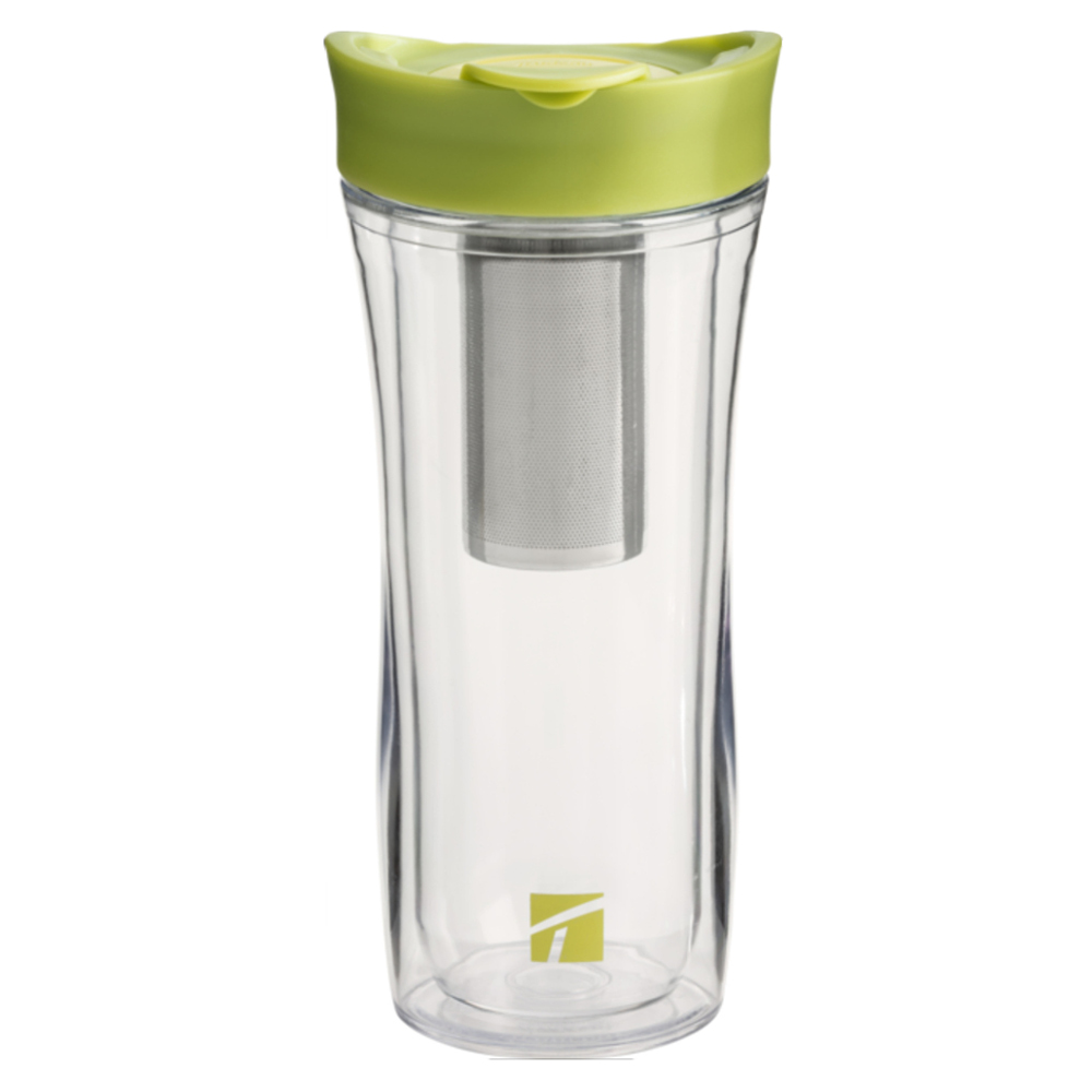 Trudeau Tea-Riffic II Double Wall Insulated 14 Ounce Tea Tumbler