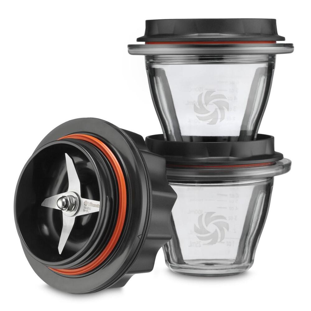 Vitamix 8 Ounce Blending Bowls Starter Kit for Ascent Series