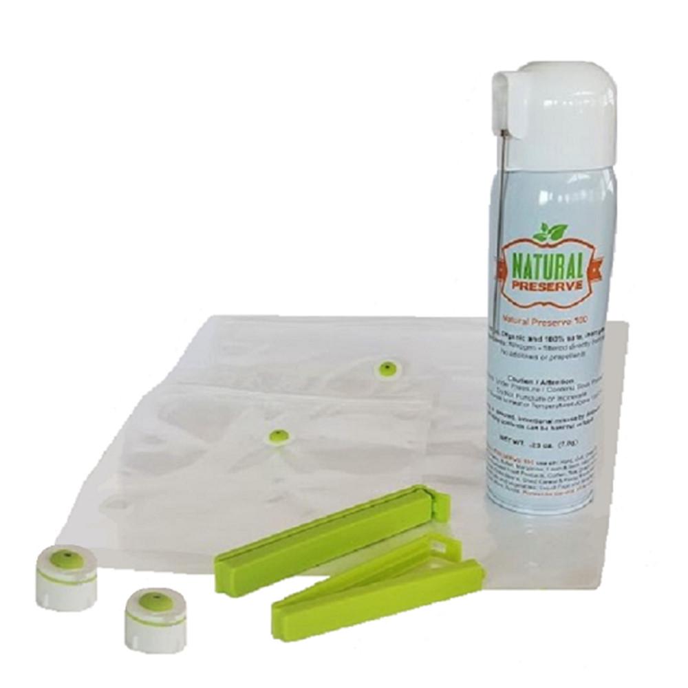 Natural Storage 7 Piece Food Preservation Starter Kit
