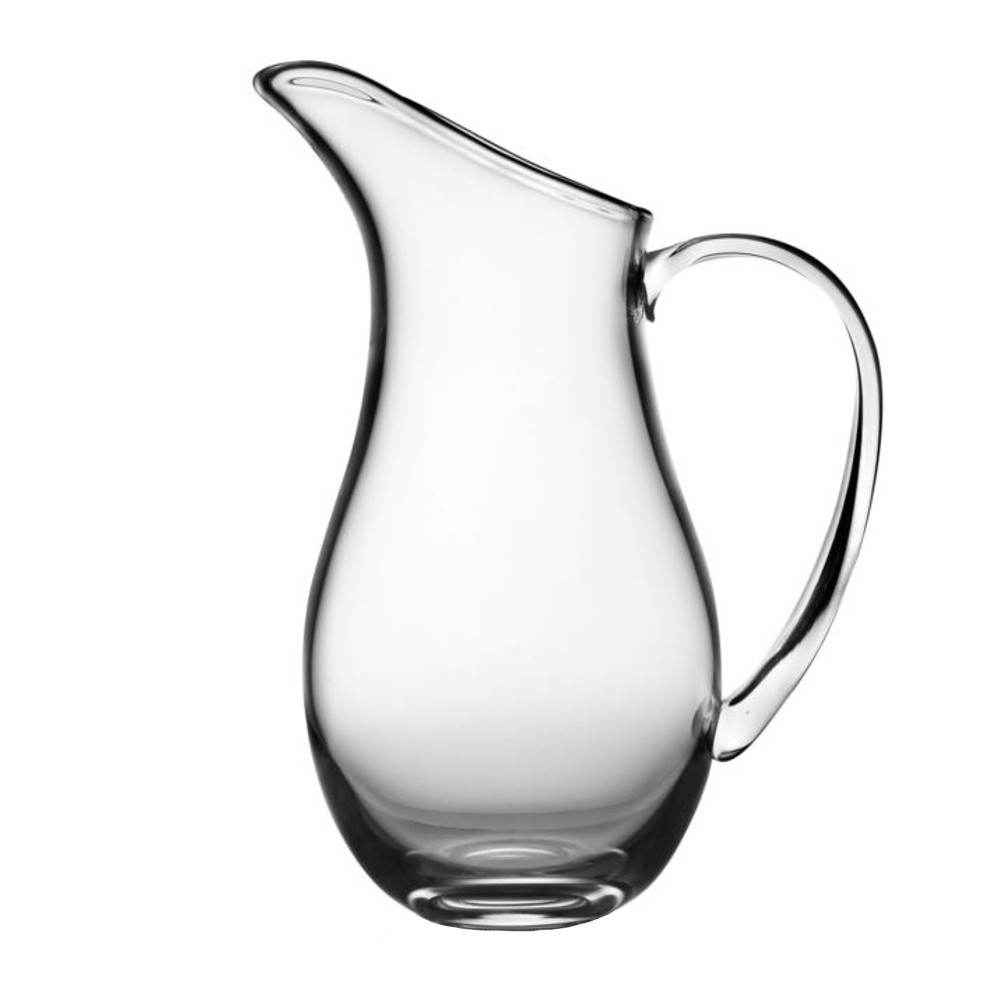 Nambe Moderne Glass 54 Ounce Beverage Serving Pitcher